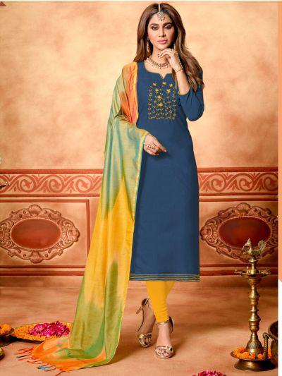 Isabella Women's Cotton Dress Material - DAI1006