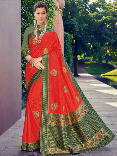 Kathana Fancy Exclusive Georgette Saree - GJ60003