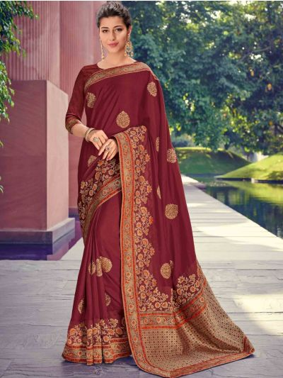 Kathana Fancy Exclusive Georgette Saree - MFB2773058