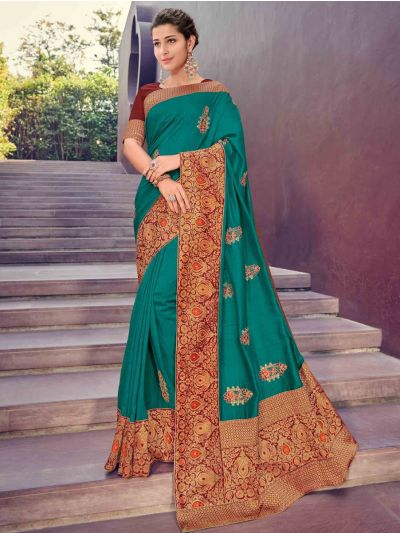 Kathana Fancy Exclusive Georgette Saree