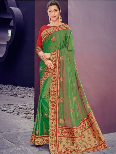 Kathana Fancy Exclusive Georgette Saree-GJ60009