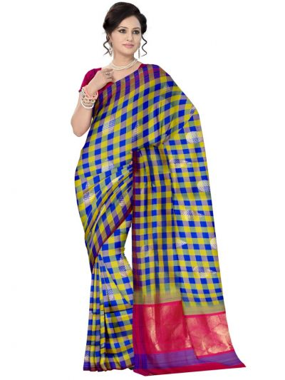 Kanmanie Pure Soft Silk Saree