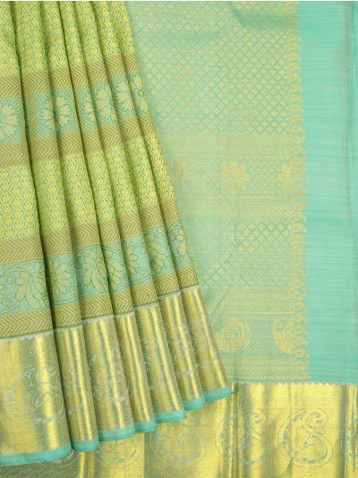 LEC9221929-Vivaha Bridal Kanchipuram Silk Saree