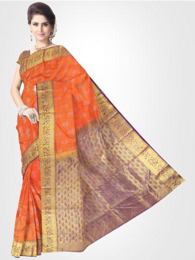 Vivaha Kanchipuram Stone Work Silk Sareee - LFD6031946