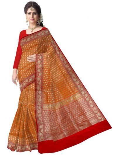 Fancy Art Silk Saree - LGA8123393
