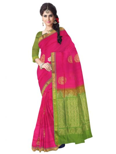 Chamelli Exclusive Arani Silk Cotton Saree