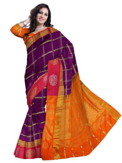 Chamelli Exclusive Arani Silk Cotton Saree