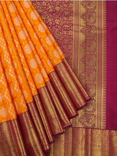 Vivaha Goddess Pure Kanchipuram Handloom Silk Saree - LGC9888897
