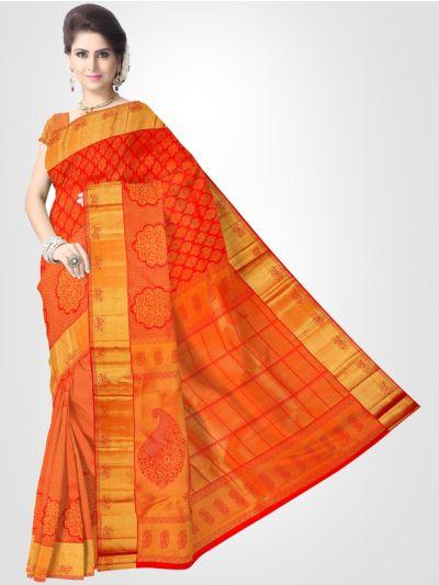 Vivaha Kanchipuram Pure Silk Saree - LGD1923527
