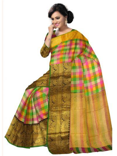 Vivaha Braidal Fancy Border Silk Saree