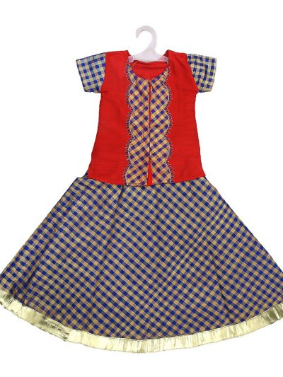 Girls Ready Made Fancy Pavadai Set - LIA4848438