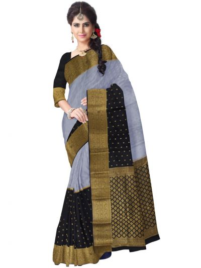 Kyathi Mysore Silk Multicolor Saree