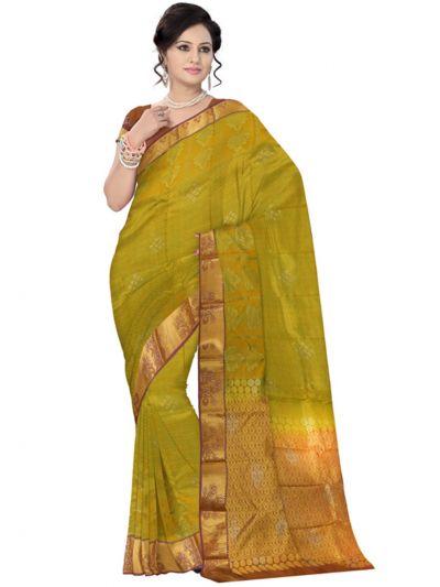 Vivaha Wedding Stone Work Silk Saree - LID6605274