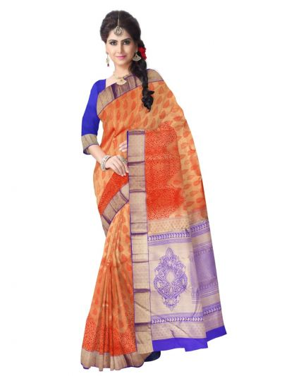 Vivaha Kanchipuram Pure Silk Saree - LJA7373986
