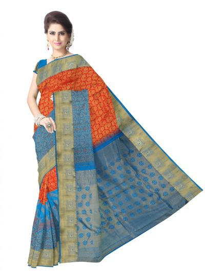 Vivaha Kanchipuram Pure Silk Saree - LJB8516603