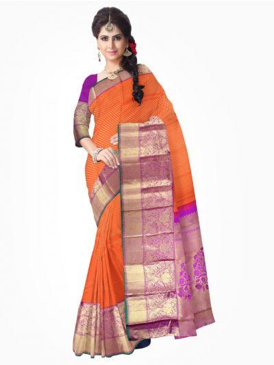 Vivaha Kanchipuram Pure Silk Saree - LJB8516617