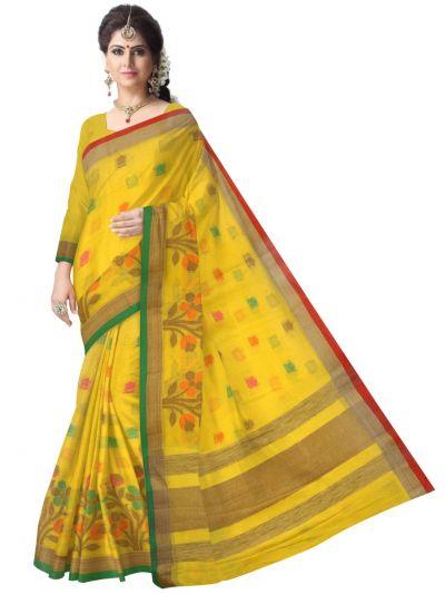 Fancy Cotton Batch Work Saree - LJB8779304