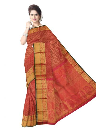 Vivaha Kanchipuram Pure Silk Saree - LJB8793125