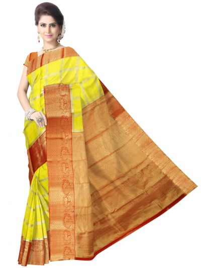 Vivaha Kanchipuram Pure Silk Saree - LJD0011602