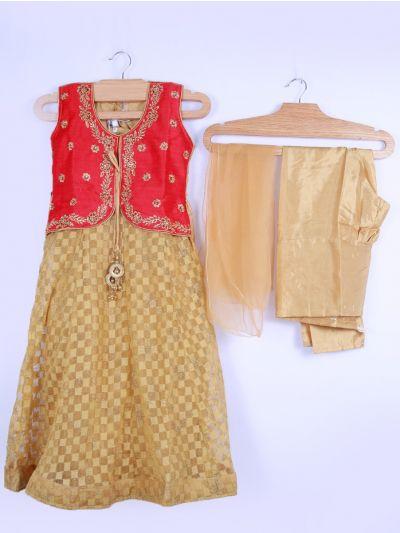 Girls Salwar Suit Set - LJD0120116 - 30Size