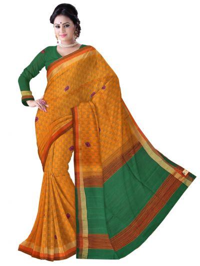 Vipanji Jute Soft Silk Saree