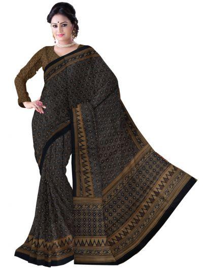 Fancy Dupion Printed Design Silk Saree - LJD0545469