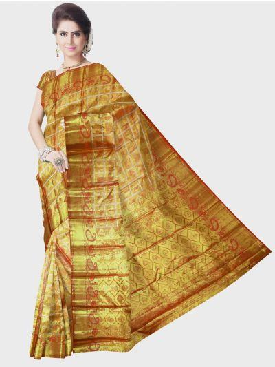 Vivaha Kanchipuram Silk Saree - Gold