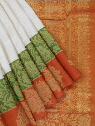 Vivaha Goddess Pure Kanchipuram Handloom Silk Saree - LJD0676306