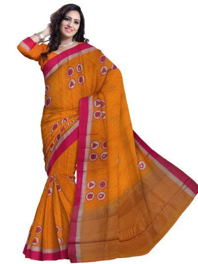 Kathana Kora Cotton Fancy Saree