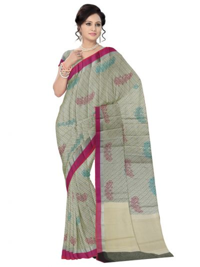 Kathana Fancy Banaras Cotton Saree