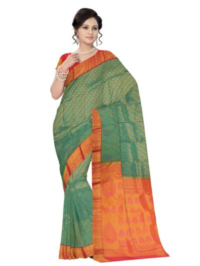 Vivaha Kanchipuram Pure Silk Saree - LJE1183013
