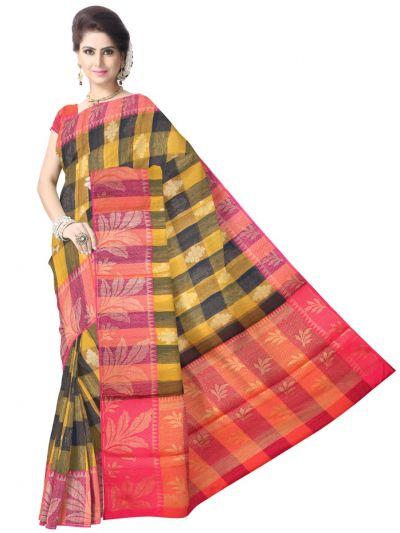 Fancy Multi Color Silk Cotton Saree - LKA2466596