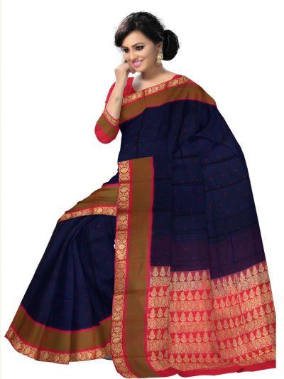 LKA2495322-Chamelli Exclusive Kora Silk Cotton Saree