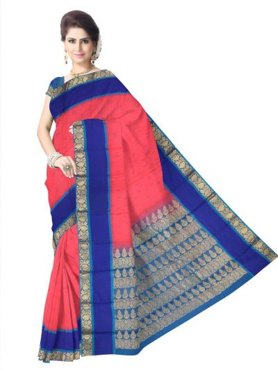 Chamelli Exclusive Kora Silk Cotton Saree