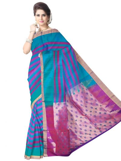 Pure Soft Silk Saree - Multi