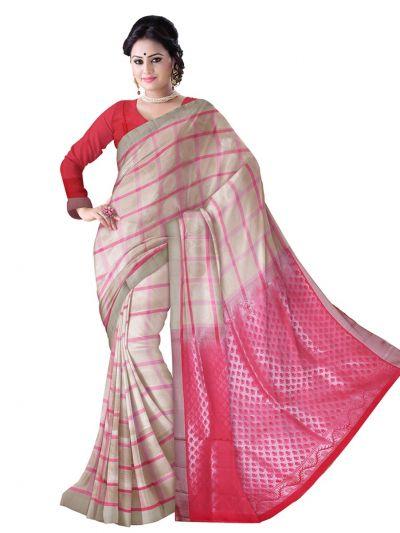 Pure Soft Silk Saree - Multi