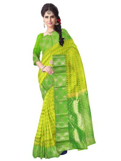 Green Uppada Traditional Silk Saree