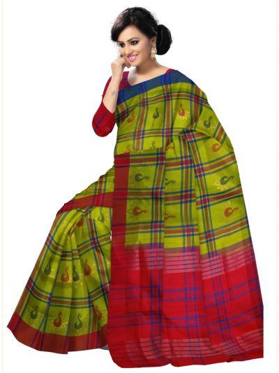 Green Kanmani Soft Silk Saree