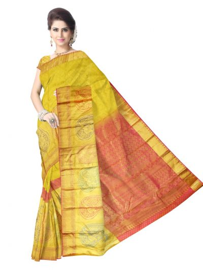 Vivaha Kanchipuram Pure Silk Saree - LKB3460875
