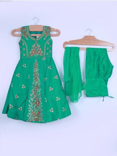 Girls Salwar Suit Set - LKB3560976 - 22Size