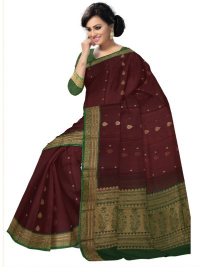 Chamelli Exclusive Kora Cotton Saree - LKD5031243