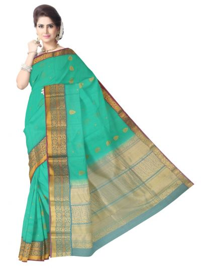 Chamelli Exclusive Kora Cotton Saree - LKD5031249