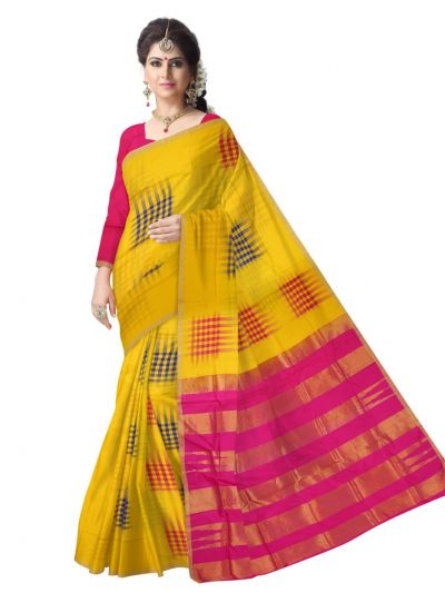 Vipanji Soft Silk Multicolor Saree