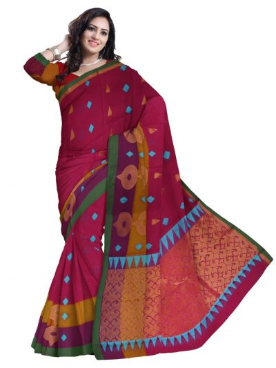 Chamelli Fancy Silk Cotton Saree