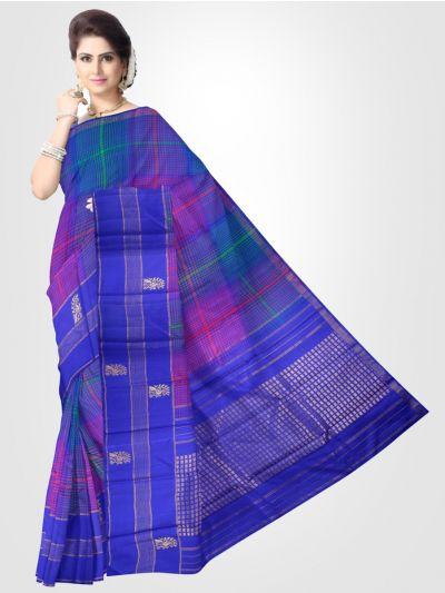 Estrila Kanchipuram Multi Silk Saree