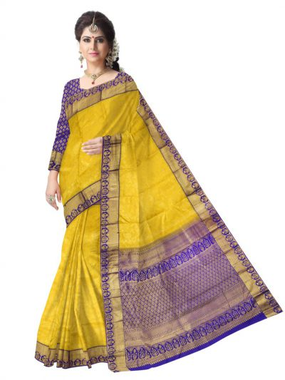 Vivaha Kanchipuram Pure Silk Saree - LLC6184807