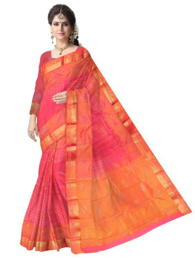 Vivaha Wedding Stone Work Silk Saree - LLC6503245