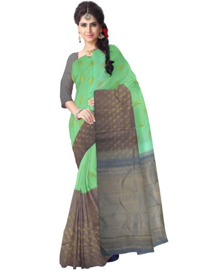 LLD6584718-Vivaha Exclusive Goddess Pure Kanchipuram Silk Saree