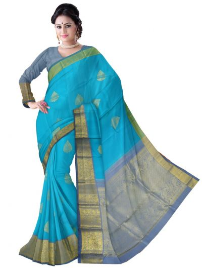 LLD6627135-Vivaha Exclusive Wedding Silk Saree