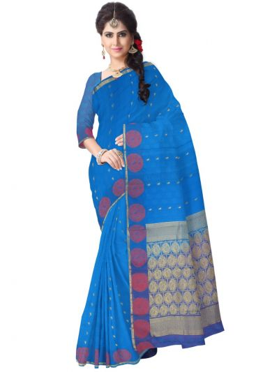 Chamelli Exclusive Kora Cotton Saree - LLD6816254